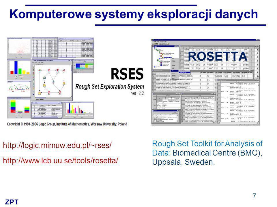 Komputerowe systemy eksploracji danych