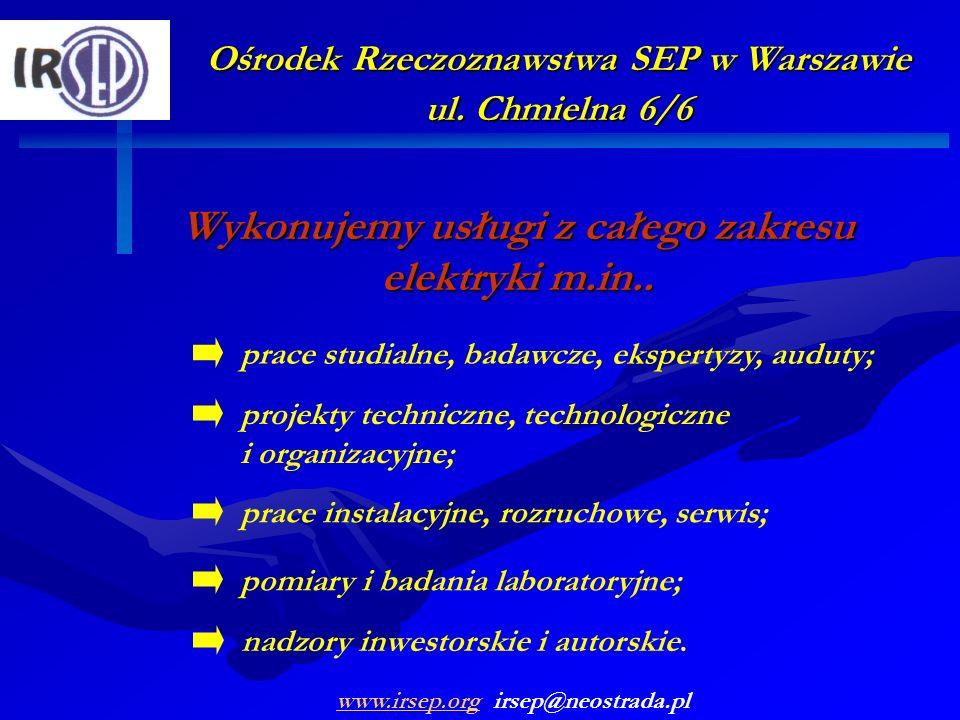 Wykonujemy usługi z całego zakresu elektryki m.in..