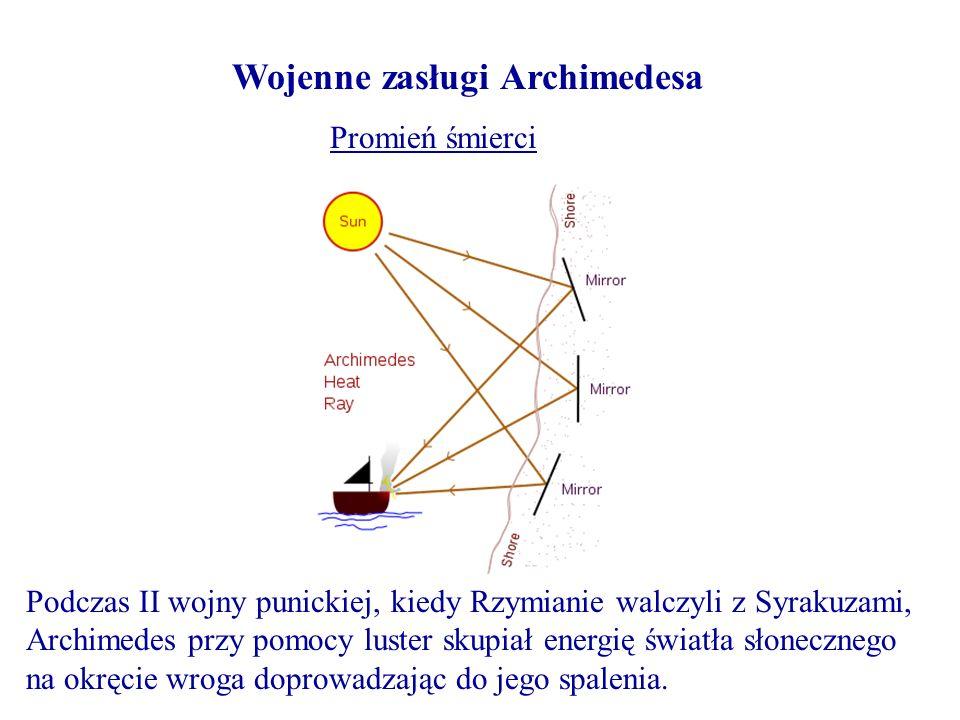 Wojenne zasługi Archimedesa