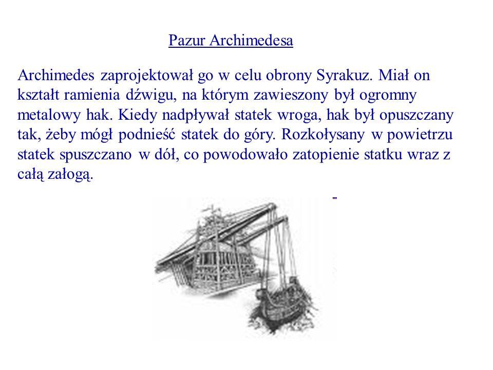 Pazur Archimedesa