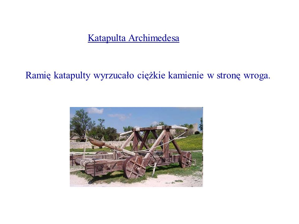 Katapulta Archimedesa