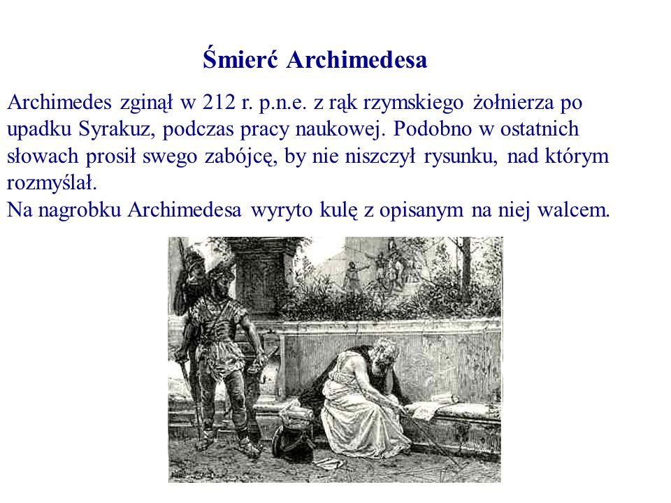 Śmierć Archimedesa