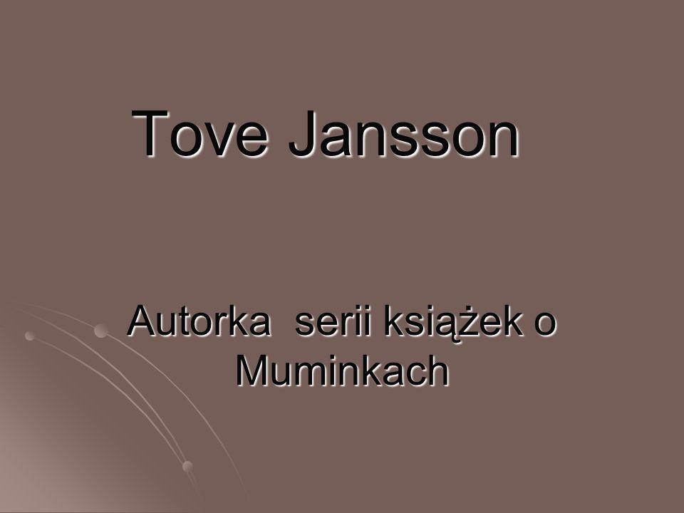 Autorka serii książek o Muminkach