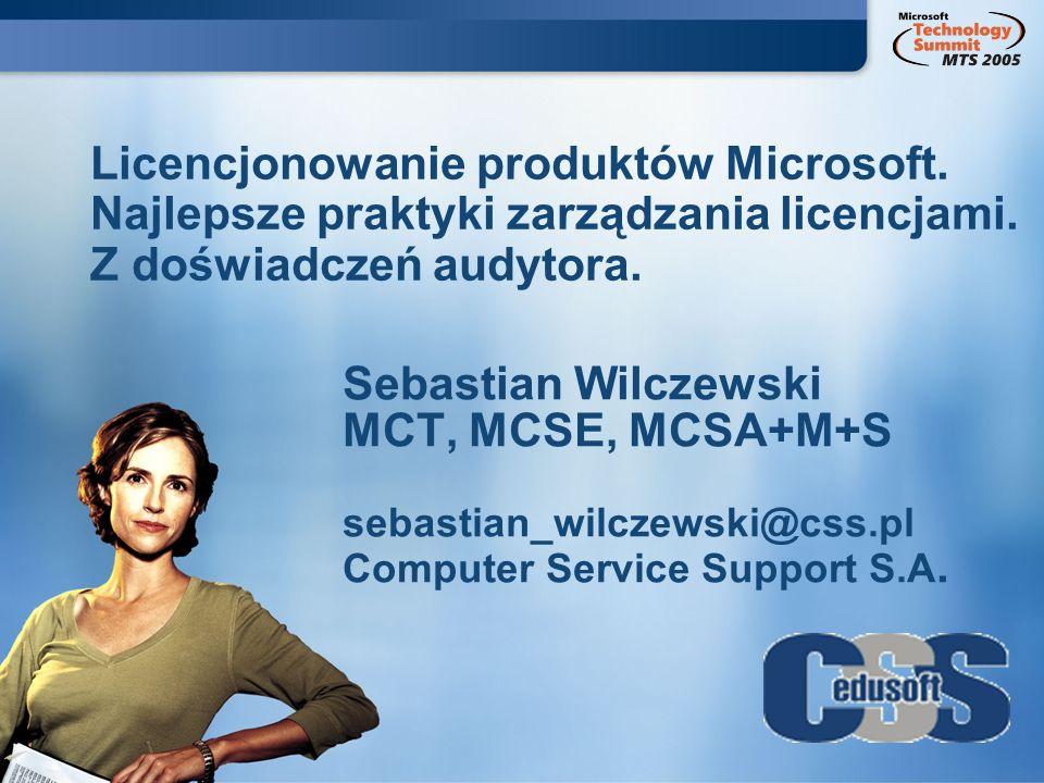 Sebastian Wilczewski MCT, MCSE, MCSA+M+S