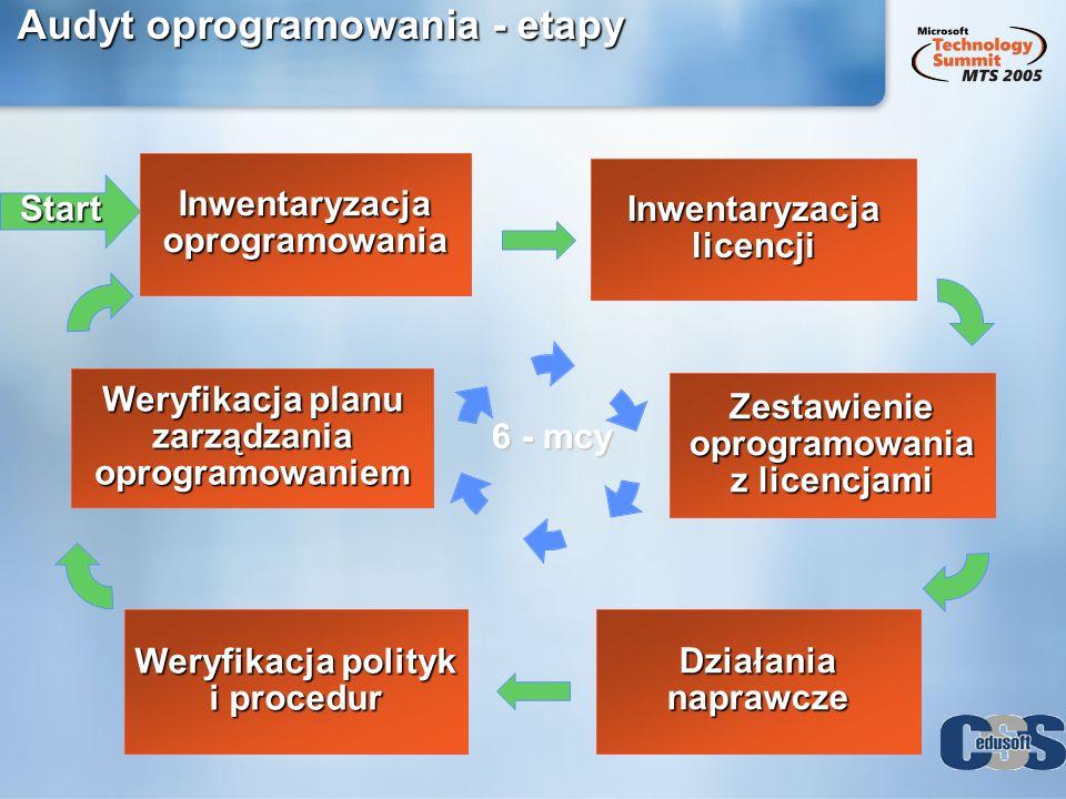Audyt oprogramowania - etapy