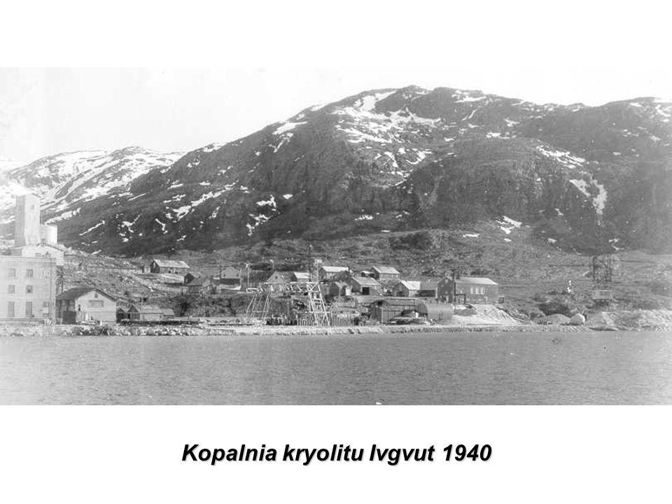 Kopalnia kryolitu Ivgvut 1940