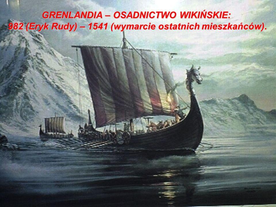 GRENLANDIA – OSADNICTWO WIKIŃSKIE: