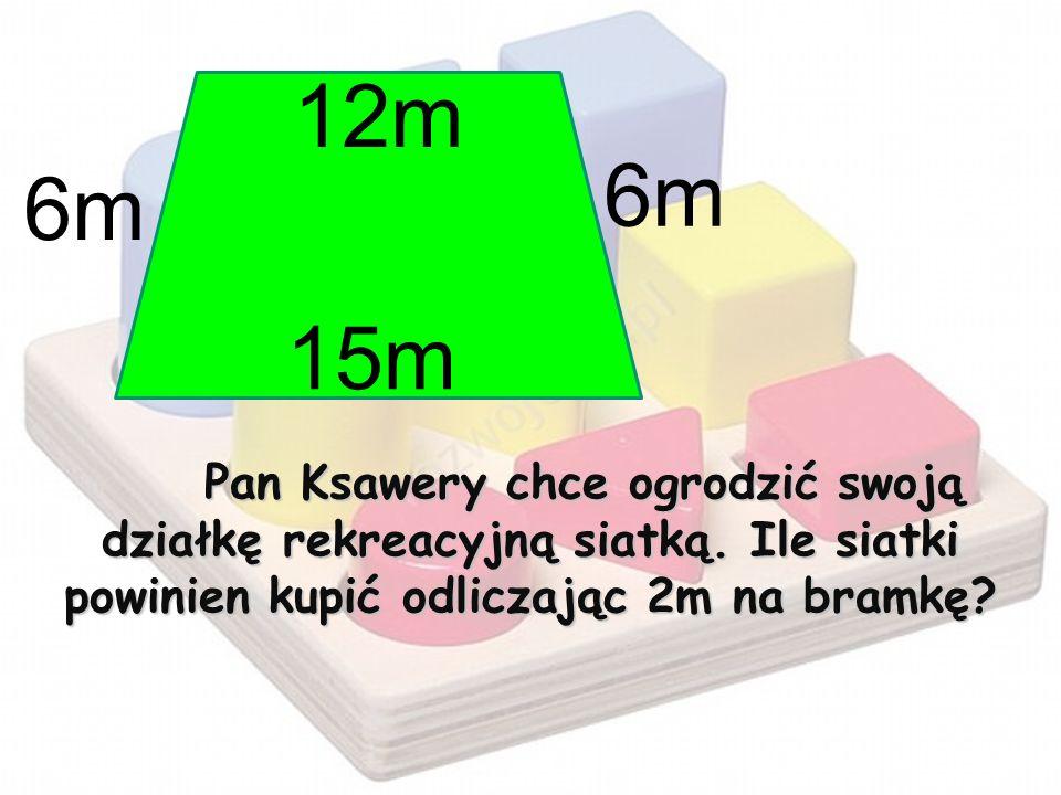 Pan Ksawery chce ogrodzić swoją działkę rekreacyjną siatką
