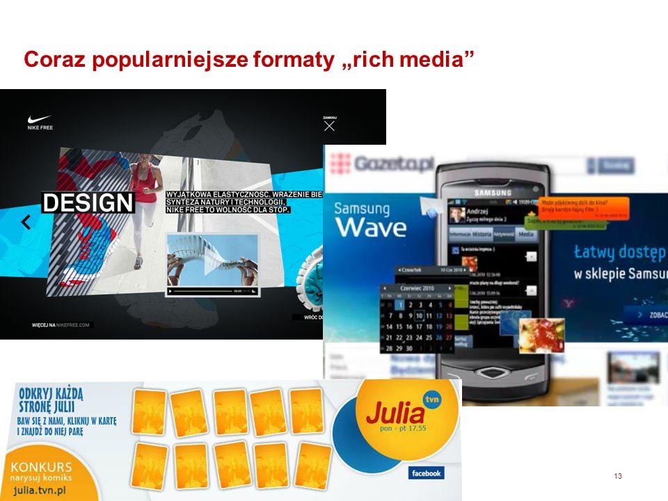 """Coraz popularniejsze formaty """"rich media"""