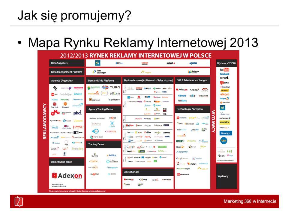 Jak się promujemy Mapa Rynku Reklamy Internetowej 2013