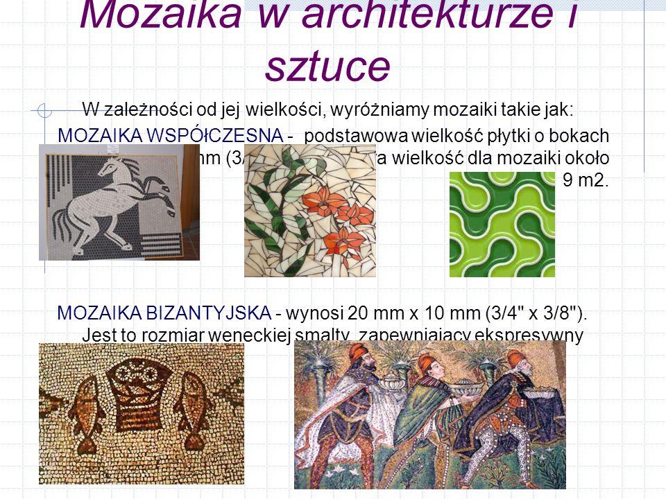 Mozaika w architekturze i sztuce