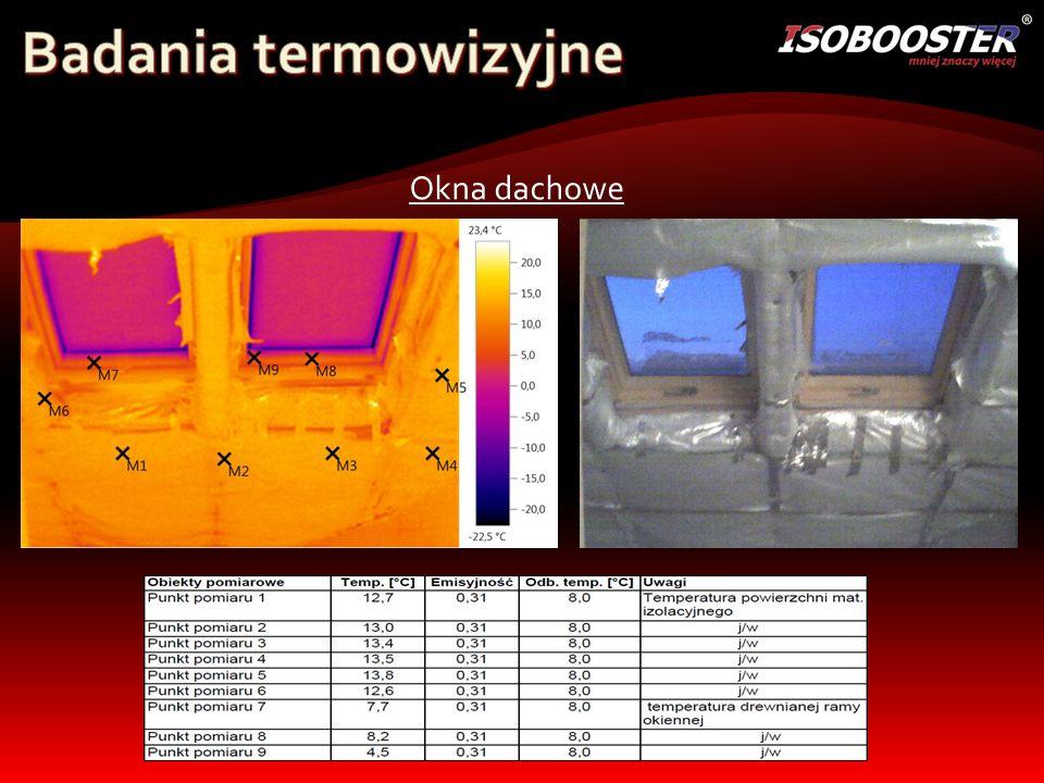 Badania termowizyjne Okna dachowe
