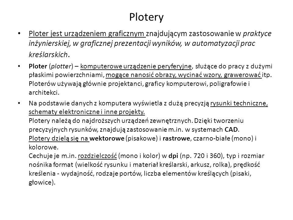 Plotery