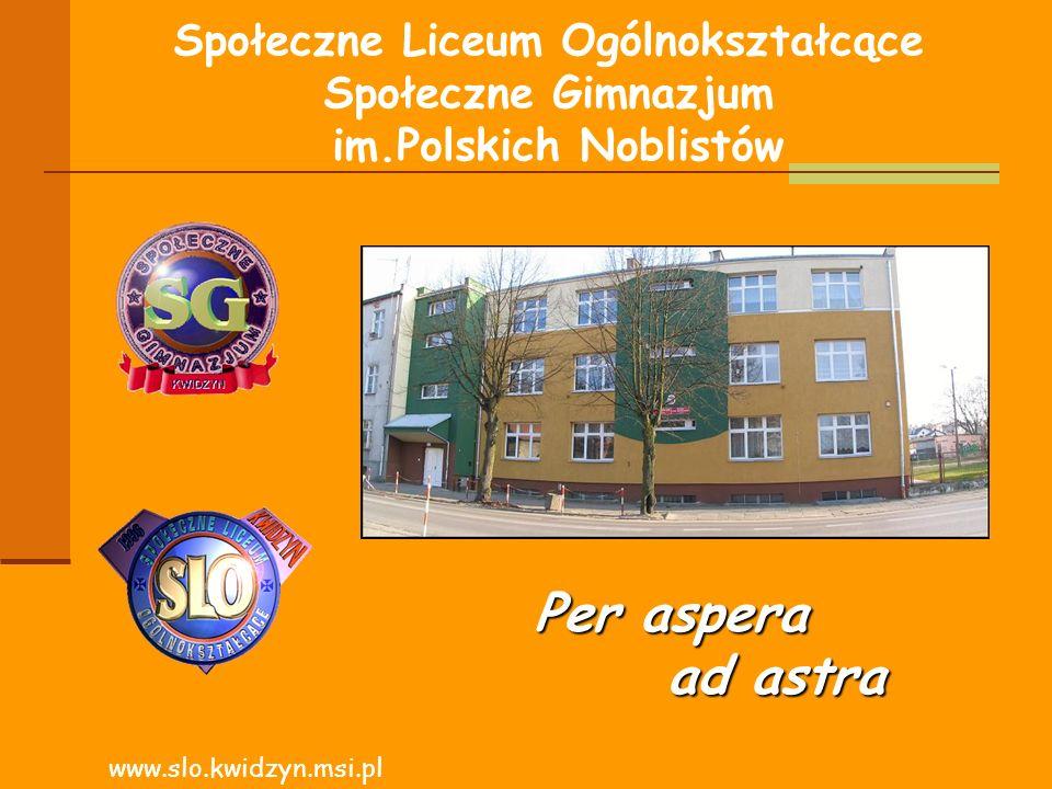 Społeczne Liceum Ogólnokształcące Społeczne Gimnazjum im