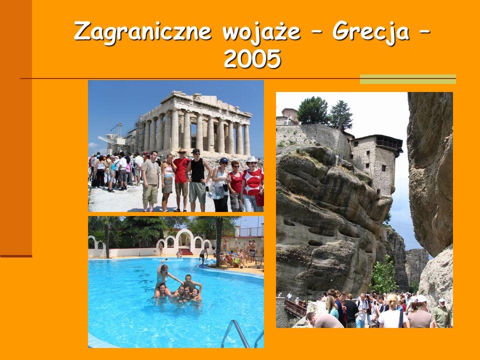 Zagraniczne wojaże – Grecja – 2005