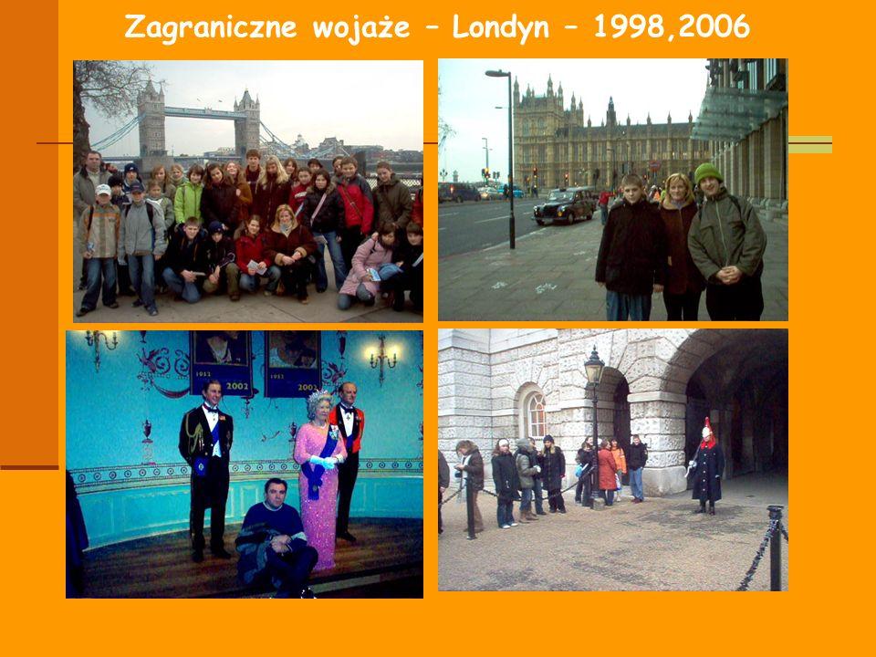 Zagraniczne wojaże – Londyn – 1998,2006