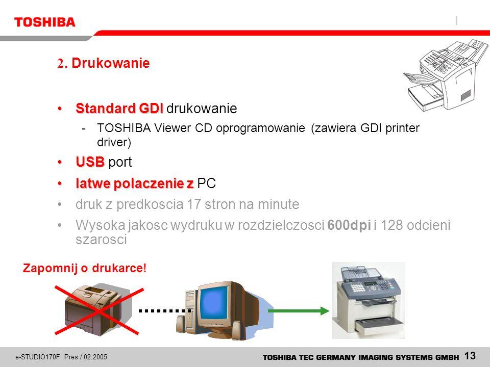 Standard GDI drukowanie