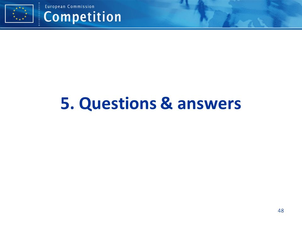 5. Questions & answers