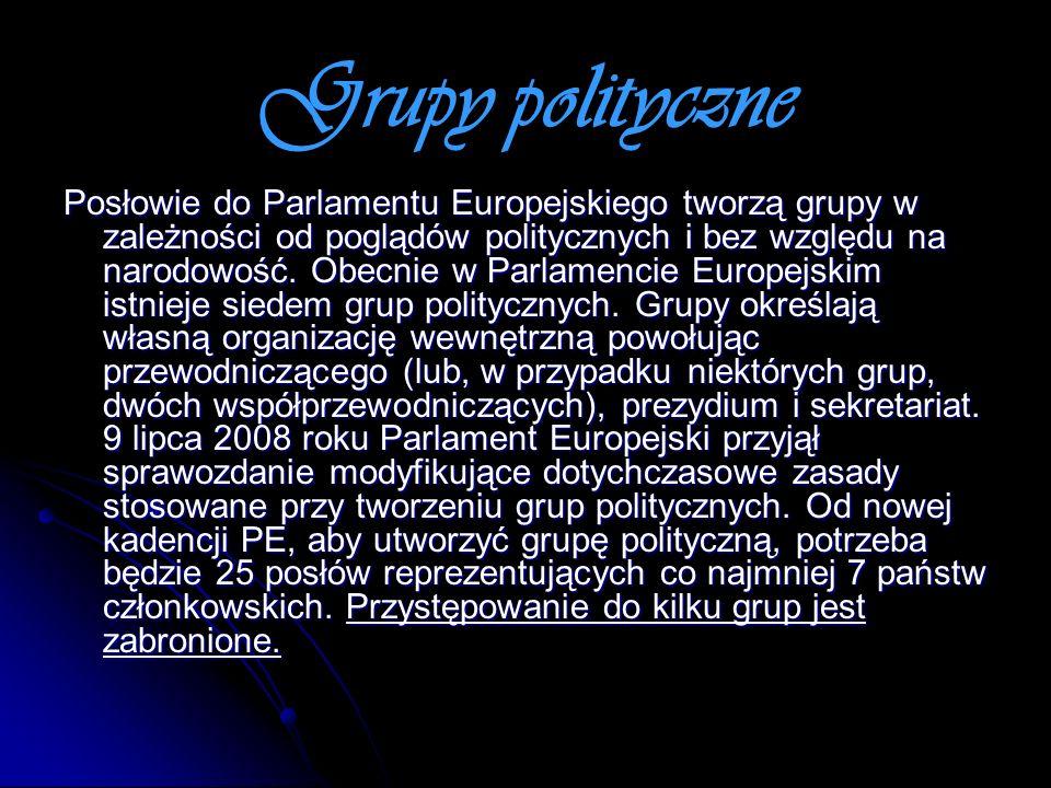 Grupy polityczne