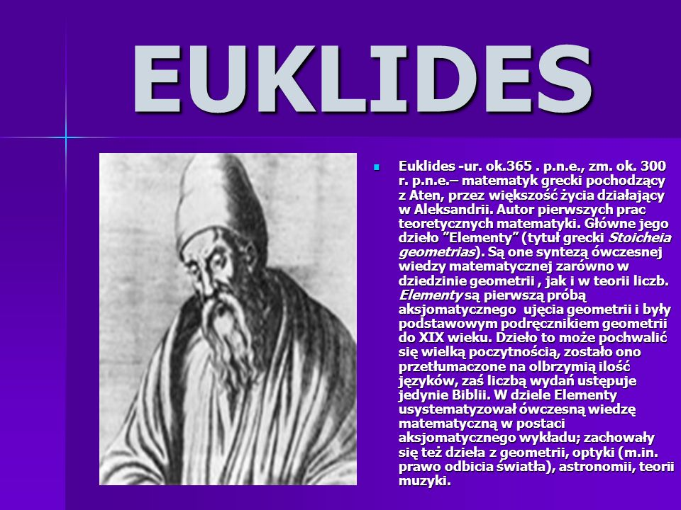 EUKLIDES