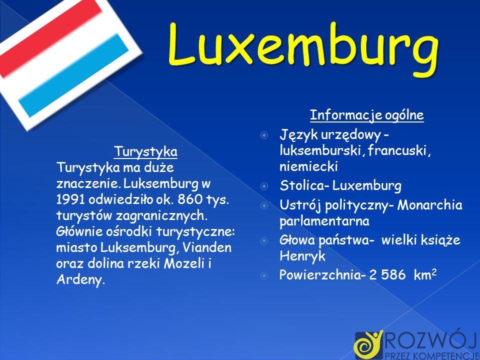 Luxemburg Informacje ogólne