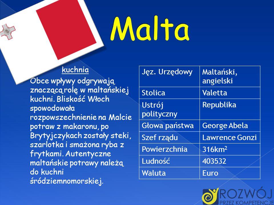 Malta kuchnia.