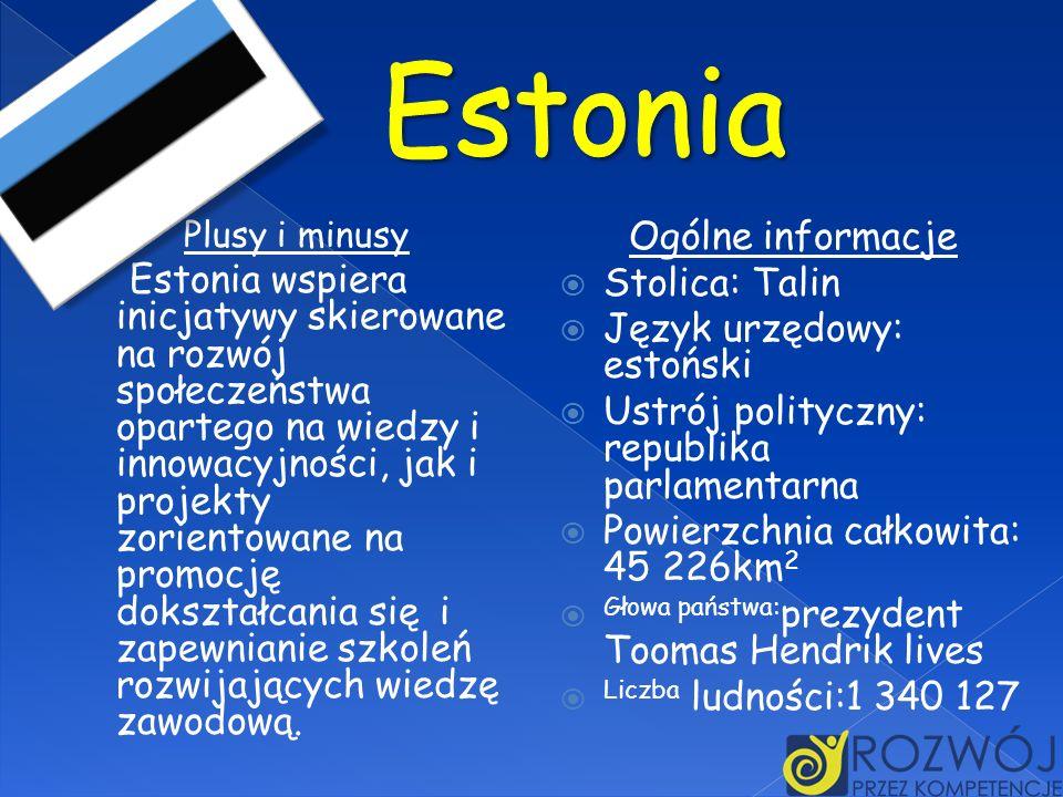 Estonia Ogólne informacje