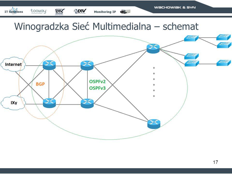 Winogradzka Sieć Multimedialna – schemat