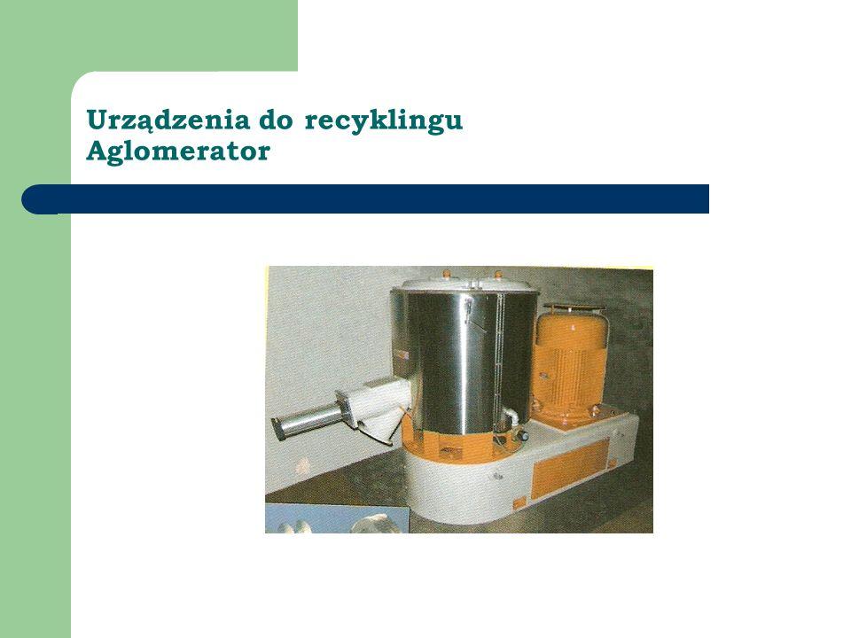 Urządzenia do recyklingu Aglomerator
