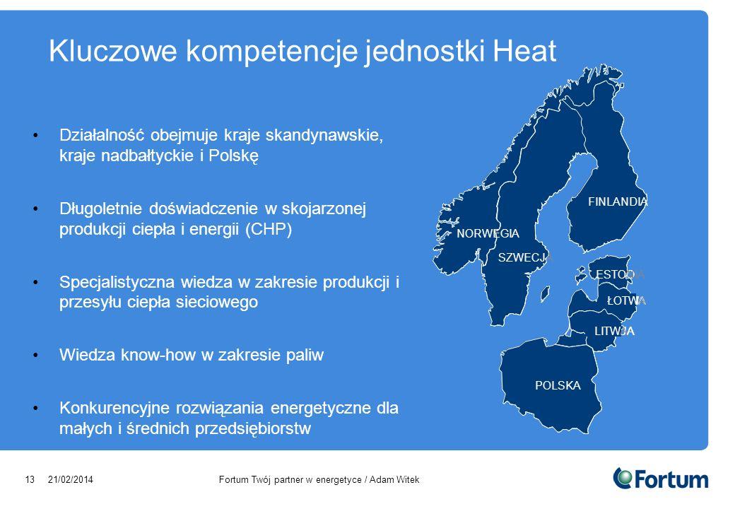 Kluczowe kompetencje jednostki Heat