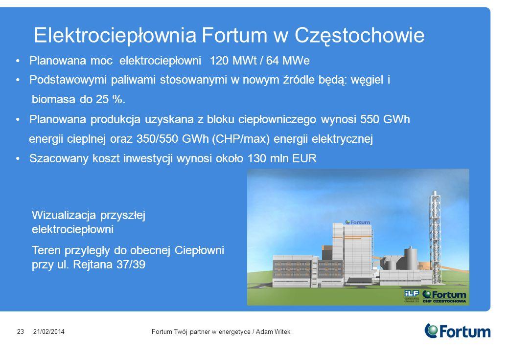 Elektrociepłownia Fortum w Częstochowie