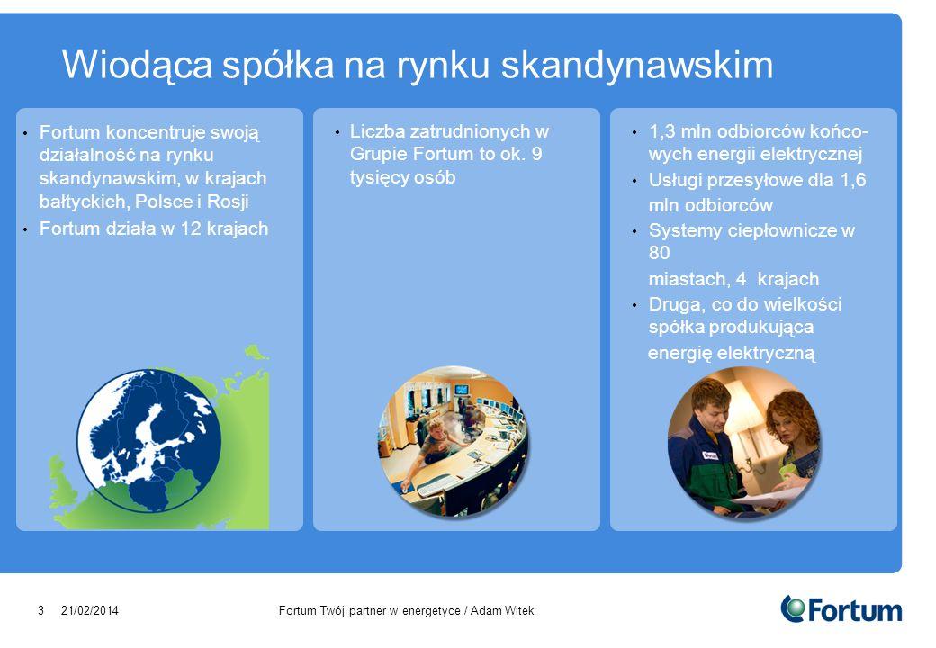Wiodąca spółka na rynku skandynawskim