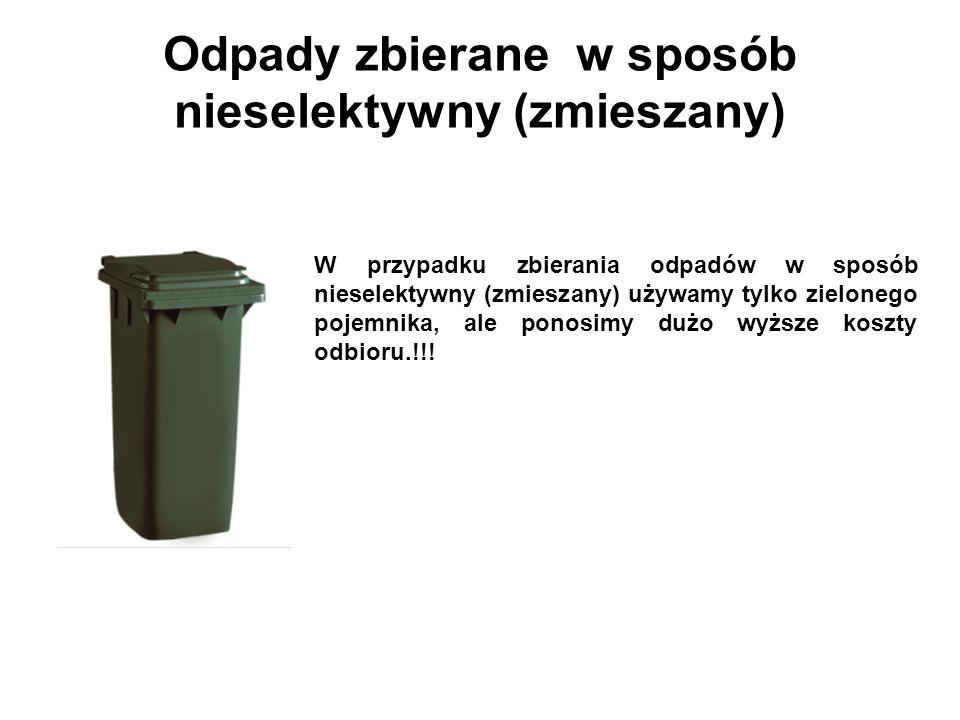 Odpady zbierane w sposób nieselektywny (zmieszany)