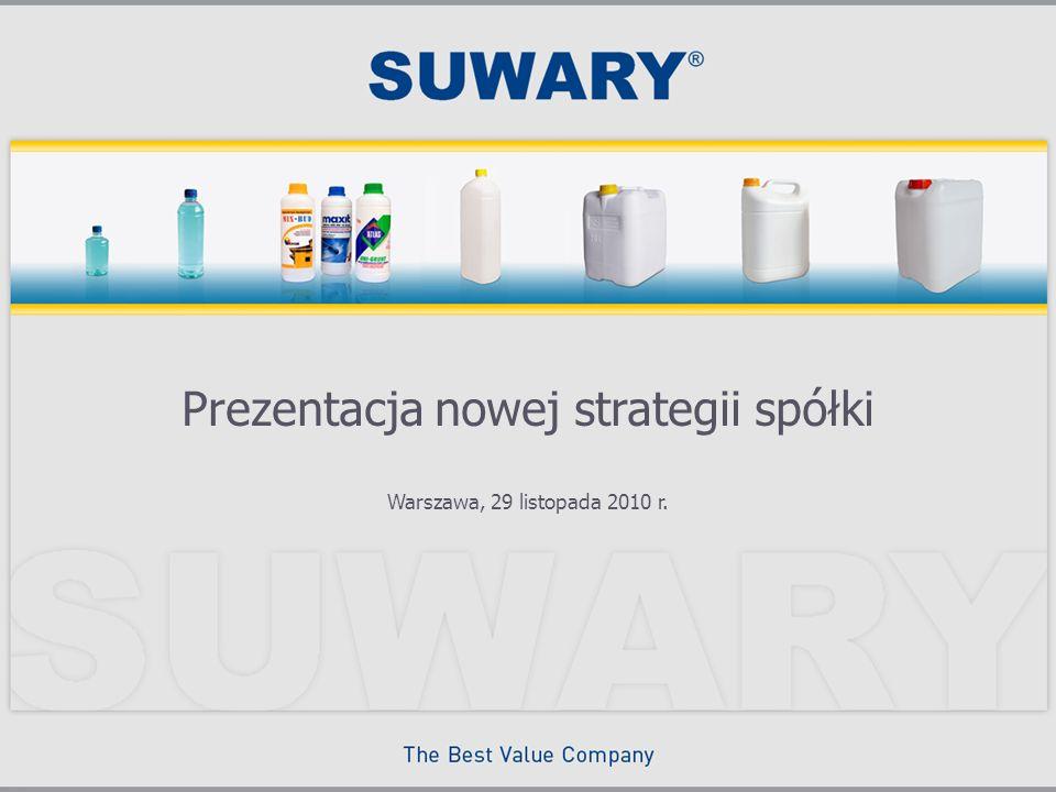 Prezentacja nowej strategii spółki