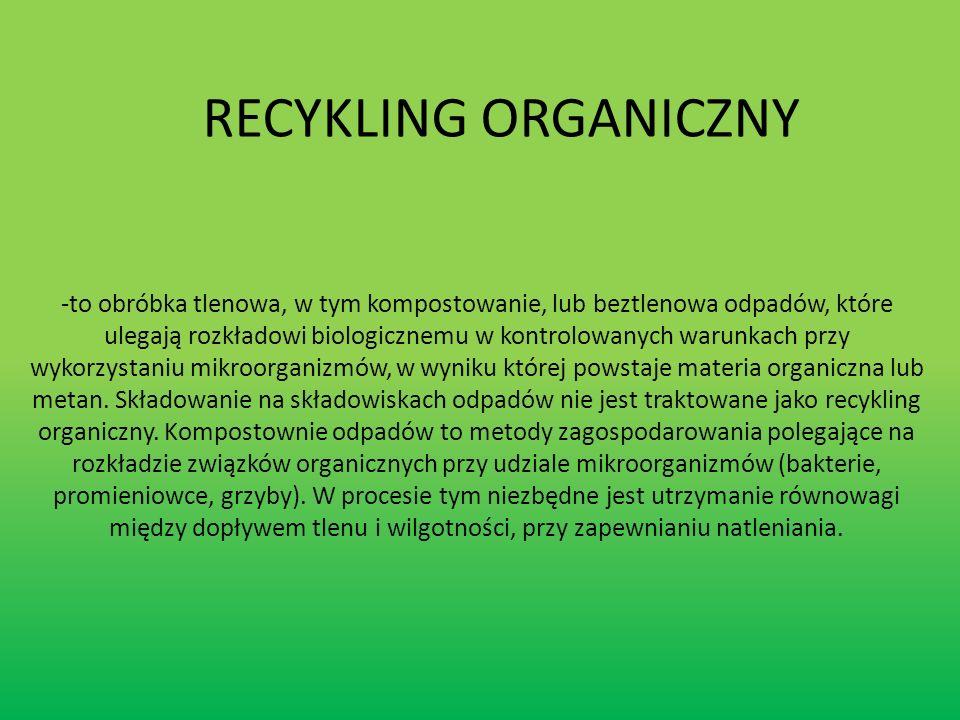 RECYKLING ORGANICZNY
