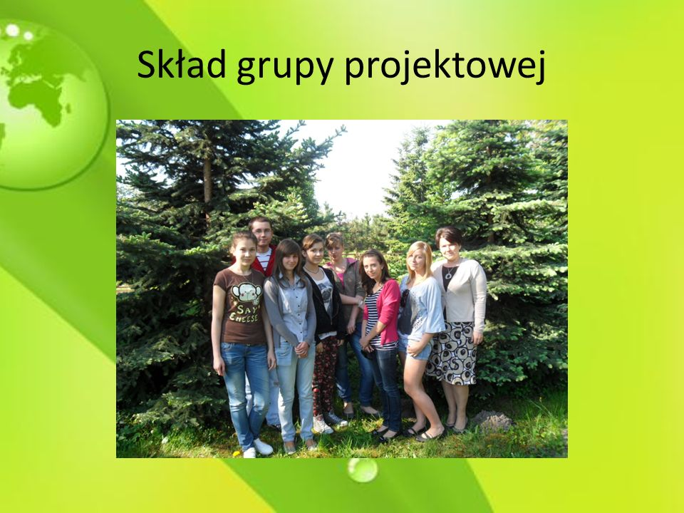 Skład grupy projektowej