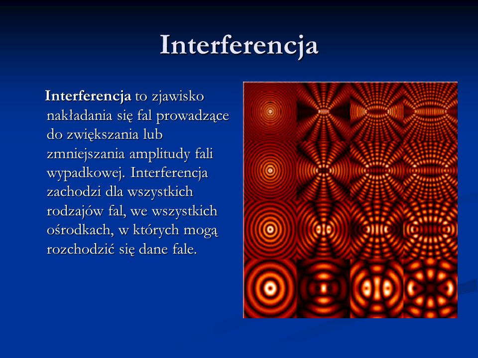 Interferencja