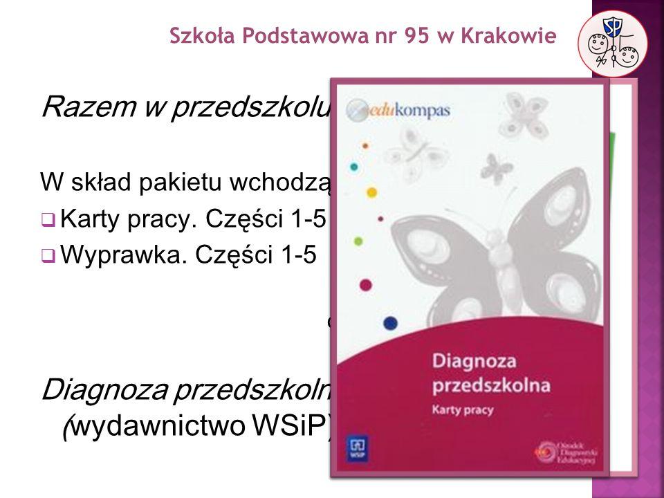 Razem w przedszkolu (wydawnictwo WSiP)