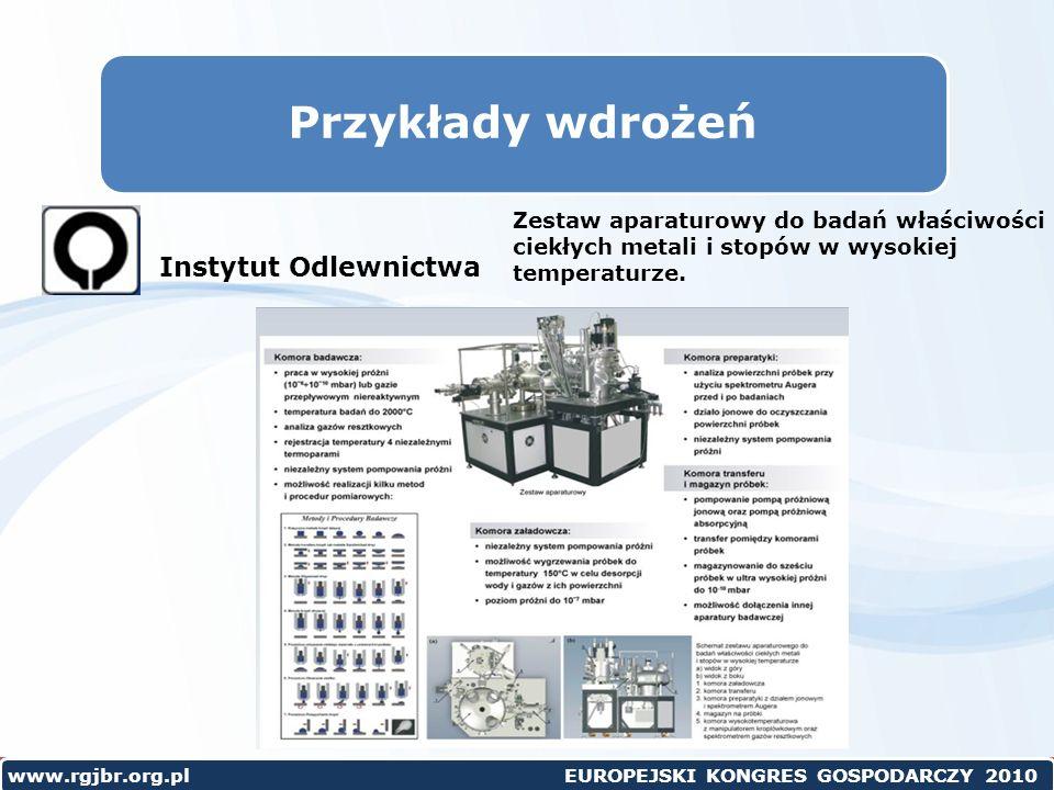 Przykłady wdrożeń Instytut Odlewnictwa