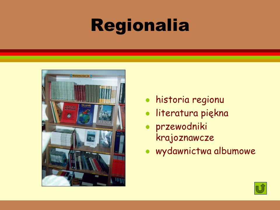 Regionalia historia regionu literatura piękna przewodniki krajoznawcze