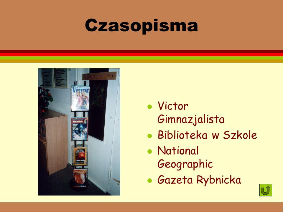 Czasopisma Victor Gimnazjalista Biblioteka w Szkole