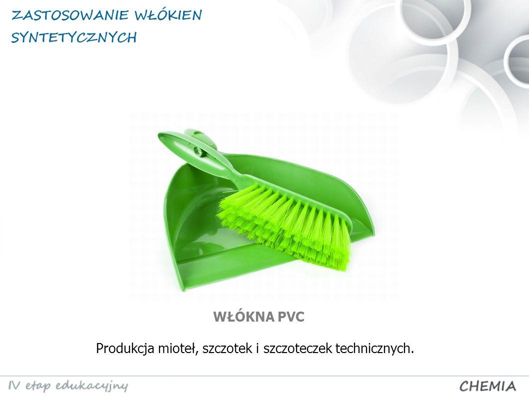 Produkcja mioteł, szczotek i szczoteczek technicznych.