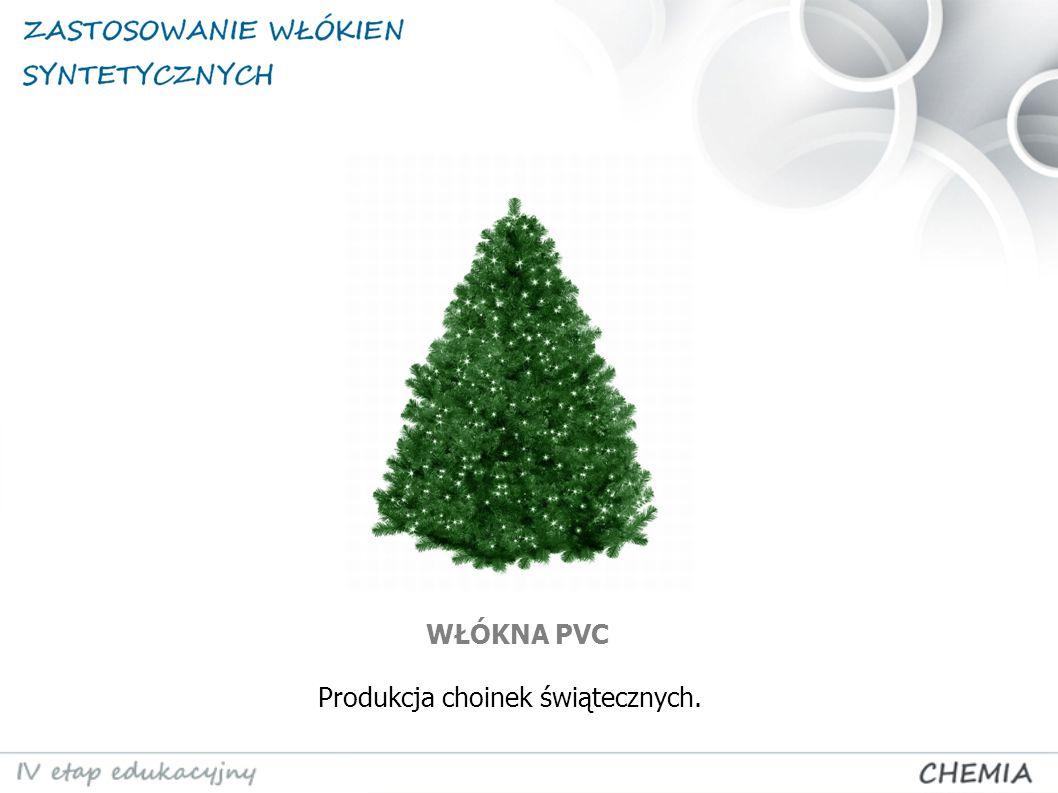 Produkcja choinek świątecznych.