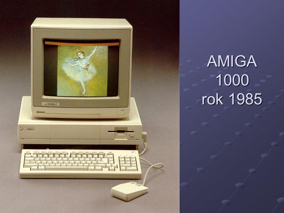 AMIGA 1000 rok 1985