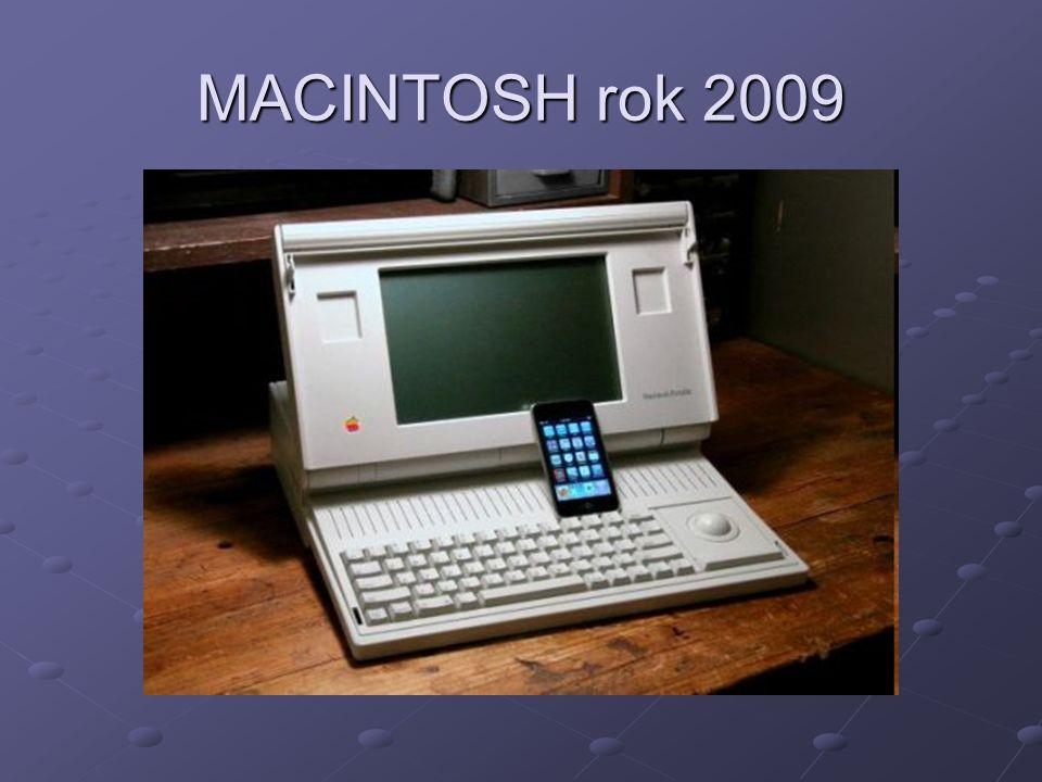 MACINTOSH rok 2009
