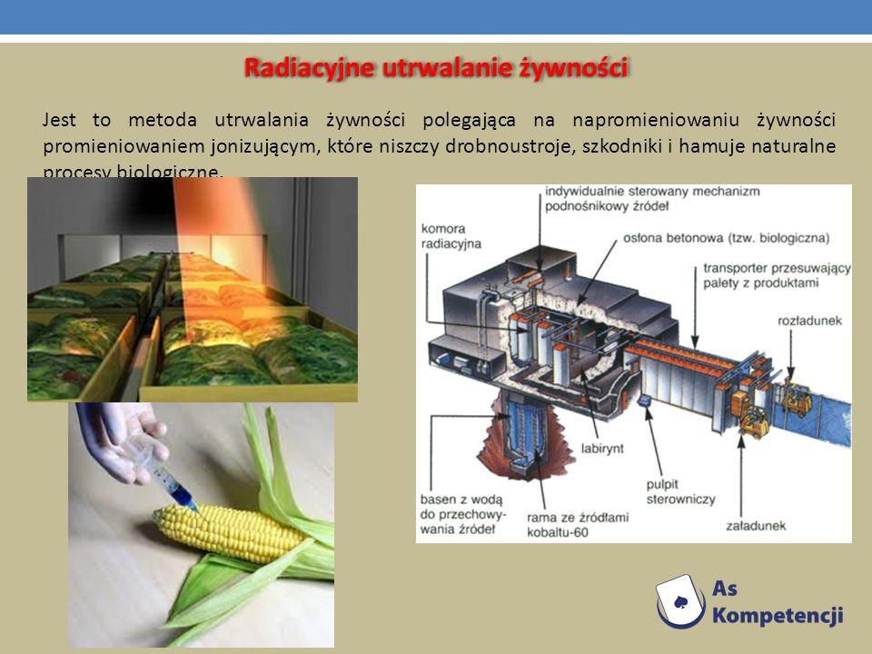 Radiacyjne utrwalanie żywności