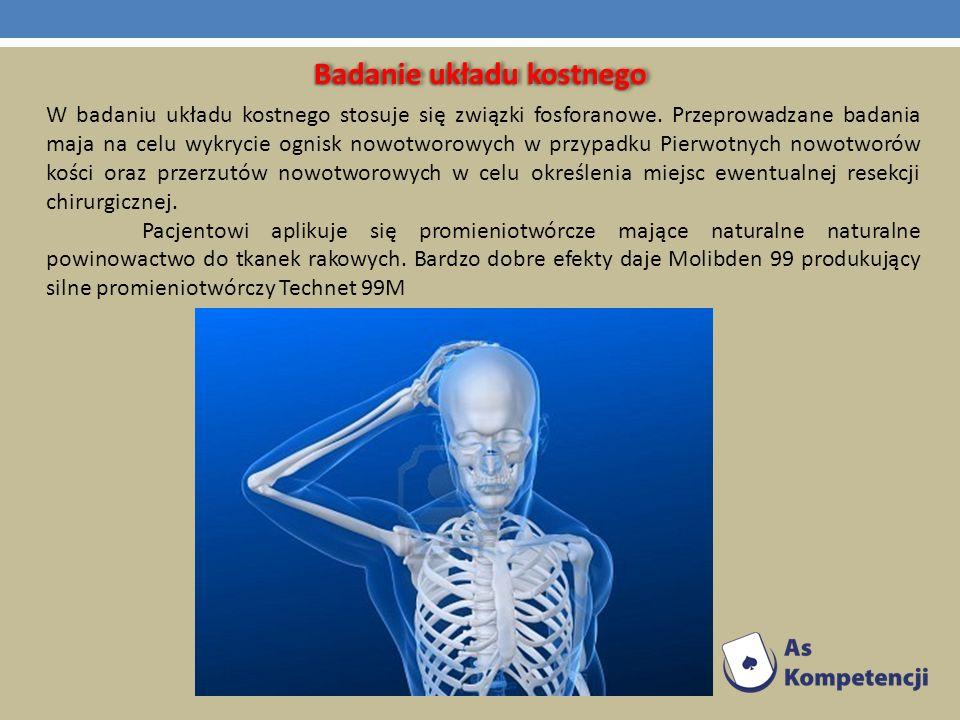 Badanie układu kostnego