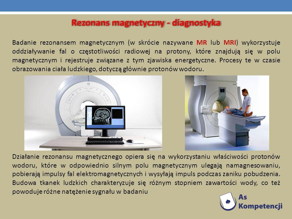 Rezonans magnetyczny - diagnostyka