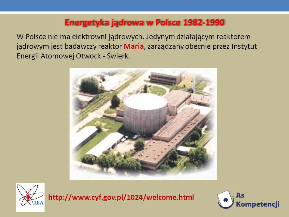 Energetyka jądrowa w Polsce 1982-1990