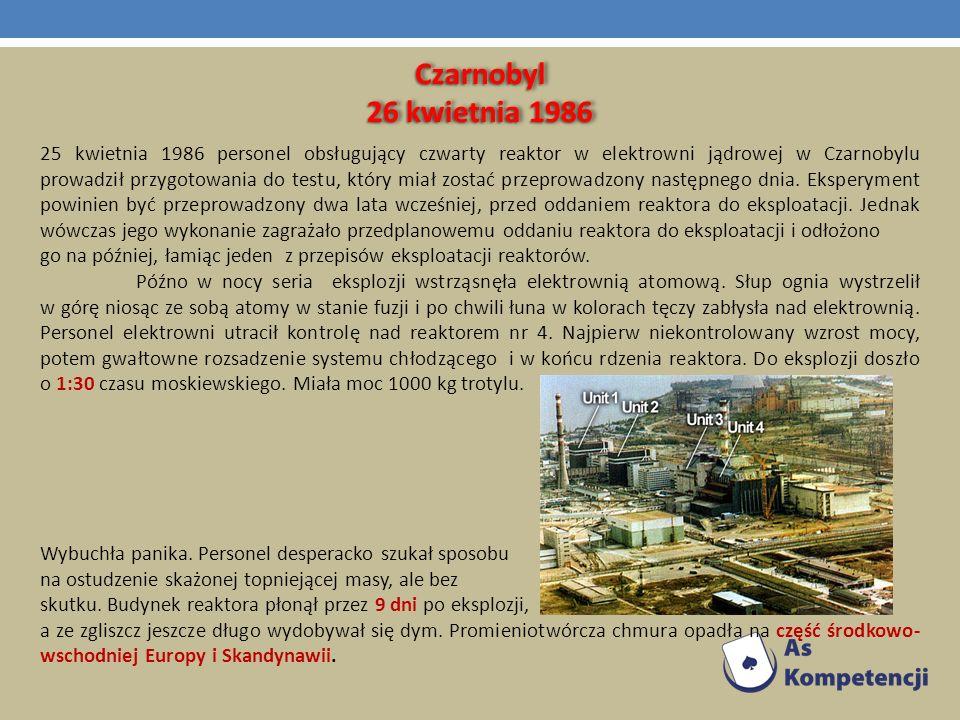 Czarnobyl 26 kwietnia 1986.